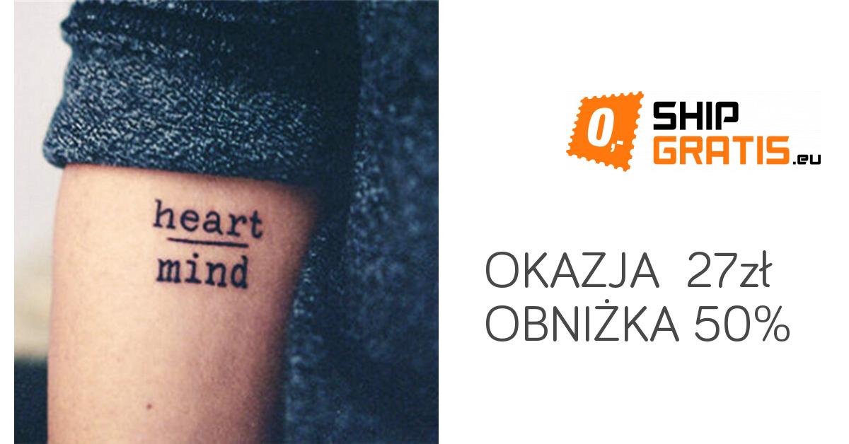 Tymczasowe Tatuaże Różne Napisy I Wzory 4304 Zł