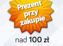 Prezent za darmo przy zakupie nad 100 zł