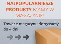 Najpopularniejsze produkty mamy w magazynie ! Towar z magazynu doręczamy do 4 dni